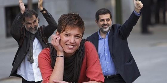 Beatriz Talegón, encantada con Los Jordis.
