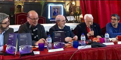 Antonio F. Segovia, José Manuel Vidal, Emili Turú, el padre Ángel y Jesús Bastante