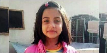 La niña Zainab Ansari.