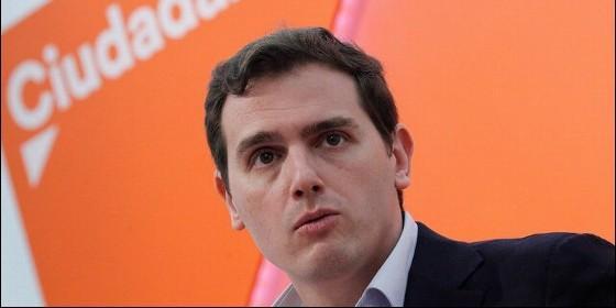 Albert Rivera, lider de Ciudadanos (CS).