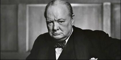 Winston Churchill, primer ministro británico.