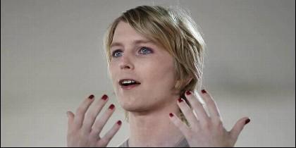 La exsoldado transexual Chelsea Manning.