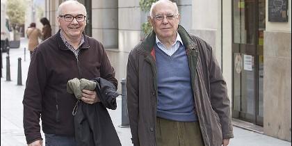 Los misioneros Antonio Vargas y Enrique Sarneguet
