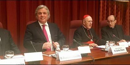 Carriquiry, el embajador de Uruguay, Osoro y Prades