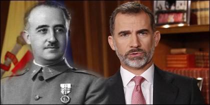 Franco y Felipe VI