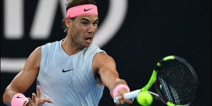 El campeón Rafa Nadal.