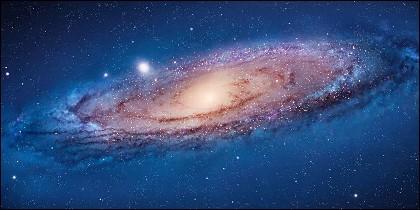 Una galaxia.