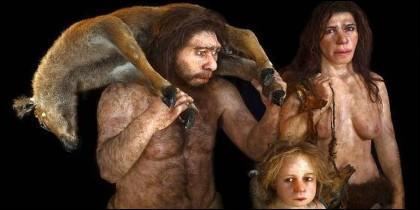 Los neandertales.