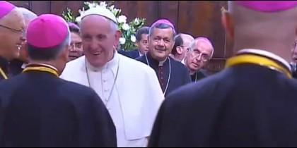 Barros, detrás del Papa