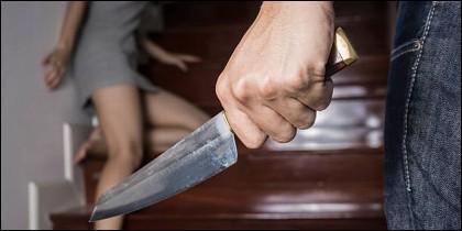 Puñal, navaja, cuchillo, violencia.
