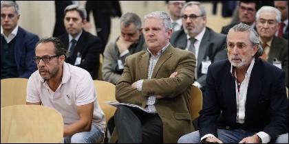 Álvaro Pérez Alonso 'El Bigotes'; Pablo Crespo y Francisco Correa, 'cabecilla' de la trama Gürtel.