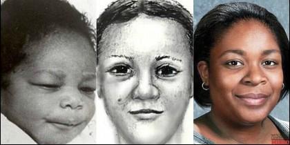 April Williams de bebé, Latoya la secuestrado y como sería April ahora, si viviera.