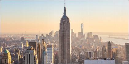 El Empire State Building de Nueva York.