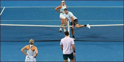 Federer y Sock