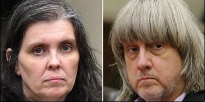 Louise y David Turpin mantuvieron cautivos a 13 hijos con cadenas y candados, según denunció uno de los niños que logró escapar.