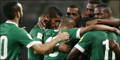 Futbolistas de Arabia Saudí