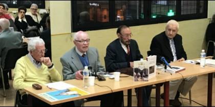 Antonio Aradillas, en la presentación de su nuevo libro 'La Iglesia que se acaba'
