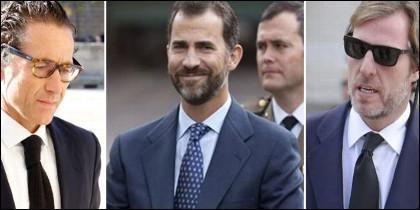 Felipe VI y sus amigos