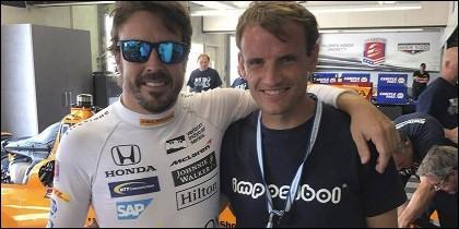 Fernando Alonso y Antonio García