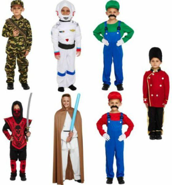 que disfraces hay para ninos