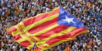 Manifestación independentistas