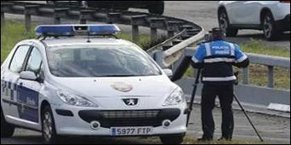 Radar de la policía
