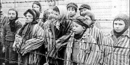 Niños en Auschwitz