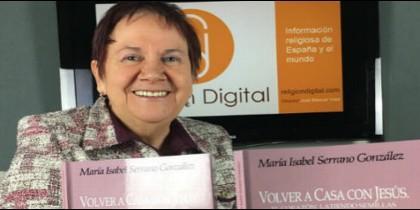 María Isabel Serrano escribe 'Volver a casa con Jesús' (Nueva Utopía)