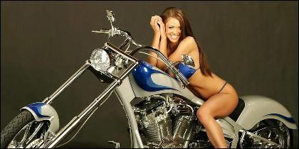 La Harley-Davidson es una koto sexy.