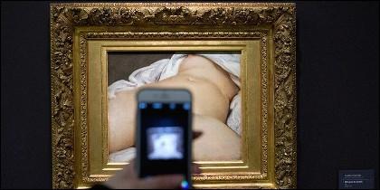 'L'origine du monde' ('El origen del mundo', en español) de Gustave Courbet.