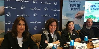 Manos Unidas presentó en la SGAE su 59 Campaña contra el Hambre