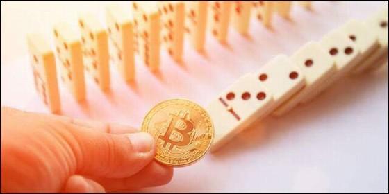 El bitcoin provocaría el desplome del resto de criptomonedas.