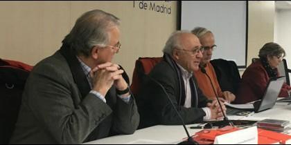 José María Concepción, Juan José Tamayo, Eduardo Lallana y Mari Pepa Raba