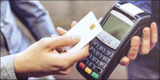 Pago con tarjeta.