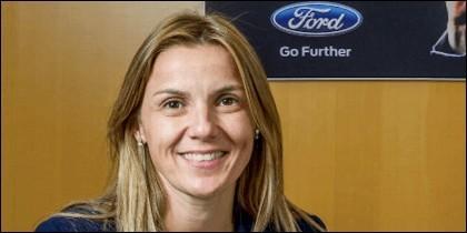 Cristina del Rey, directora de Comunicación de Ford España.