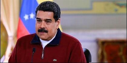Nicolás Maduro con su 'Lacoste'.