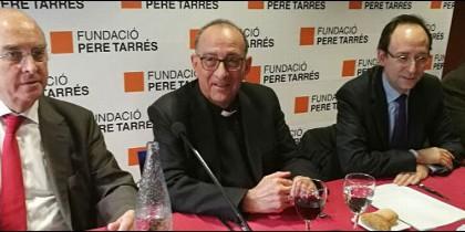 El cardenal Omella, en la Fundació Pere Tarrés