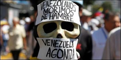 Miseria, represión y hambre en la Venezuela chavista.