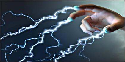 Las manos tienden a sufrir más la electricidad estática.