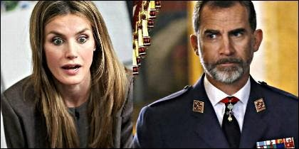 Los Reyes de España: Letizia y Felipe VI.