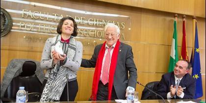 El padre Ángel, en la Universidad de Granada