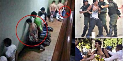 Torturas en las cárceles chavistas de Venezuela.