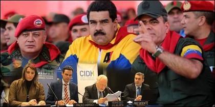 El CIDH y Maduro