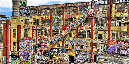 Los grafitis de 5Pointz, en Nueva York.