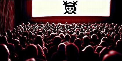 Pirateria en internet, cine, series y televisión.