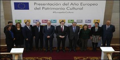 El Presidente del Gobierno, Mariano Rajoy acudió a Palencia a apoyar el Patrimonio como recurso
