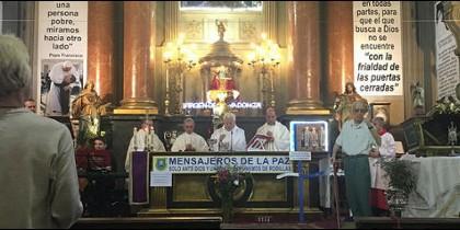 Misa en memoria de Pedro Casaldáliga en San Antón