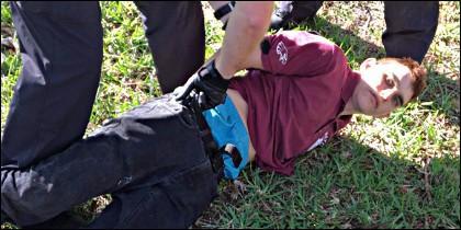 Nikolas Cruz, el asesino del colegio en Parkland.