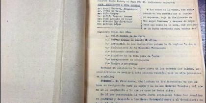 Uno de los documentos del archivo de Acción Católica Española