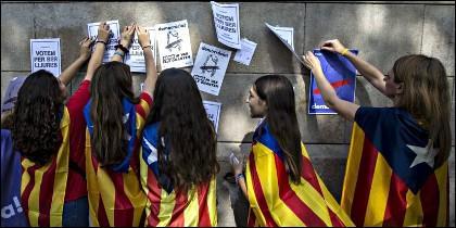 Escuela en Cataluña: La forma de adoctrinar en la escuela catalana no es algo puntual.